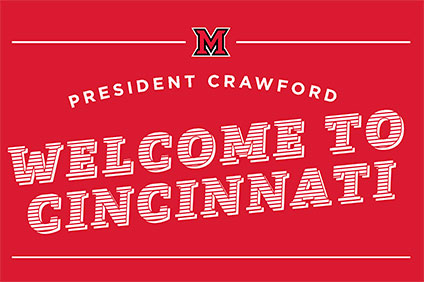 Welcome the Crawfords to Cincinnati