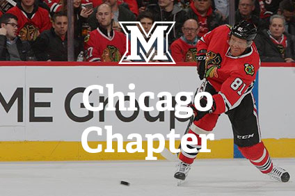 Chicago Chapter – Miami alumni Chicago Blackhawks outing