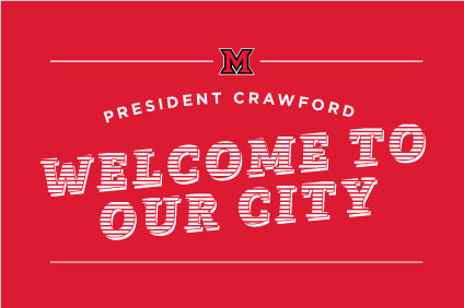 Welcome the Crawfords to your city