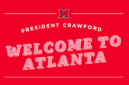 Welcome the Crawfords to Atlanta