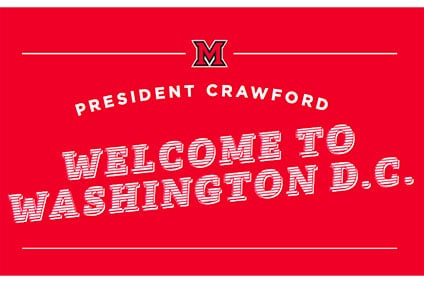 Welcome the Crawfords to Washington, D.C.