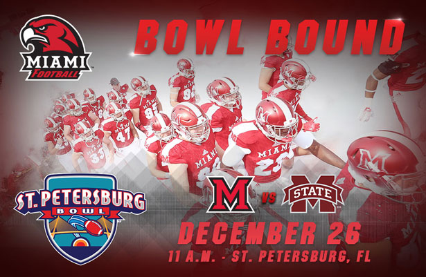 Bowl Bound - St. Petersburg Bowl - Miami vs. Mississippi State December 26 11 a.m. - St. Petersburg, FL