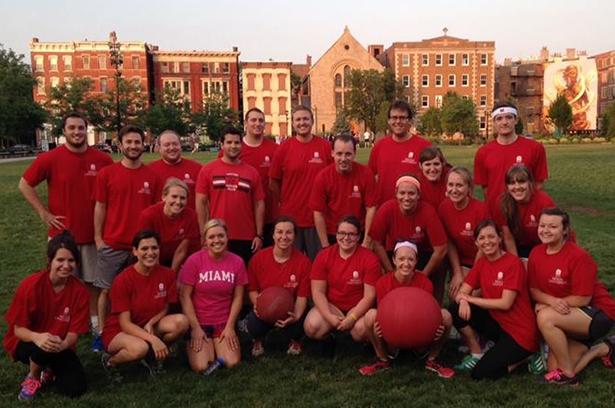 2014 Cincinnati Chapter Kickball Team