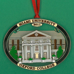 Oxford College Ornament 2011