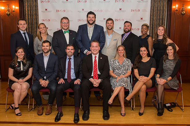 Young Alumni Council at 18 Of the Last 9 Awards Dinner