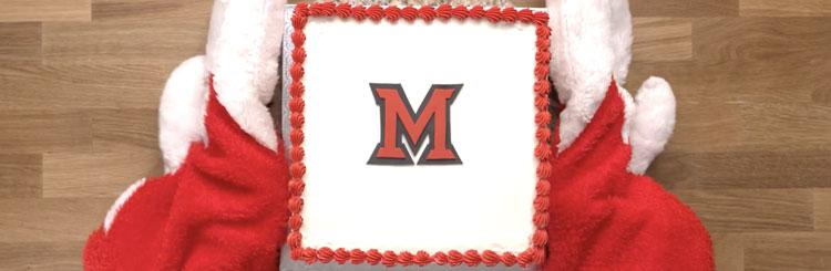 Marvelous Miami University Happy Birthday Cake Recipe Funny Birthday Cards Online Elaedamsfinfo